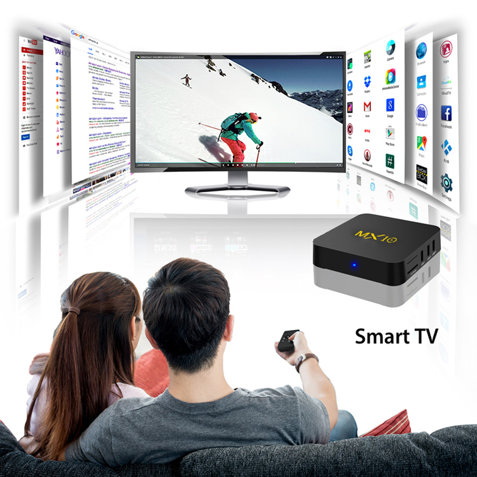 MX10 4G RAM+64G ROM IPTV QHDTV Subscription Arabic France Tunisa Lebanon Belgium IP TV Code Test Android 8.1 4K WiFi IPTV Box (4)
