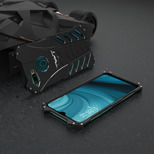 Luxury Aluminum Metal Case For Oppo A7 Back Cover Batman Element Hard Protector Shockproof Phone Cases
