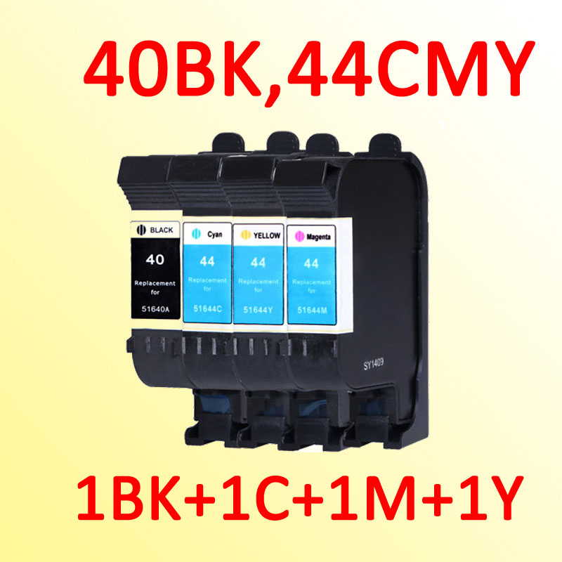 4x ink cartridge for hp40 44 for hp44 for hp 40 designjet 230 250c 330 350c