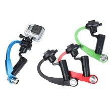 Gravação de vídeo estabilizador handheld estabilizador para gopro Extrema estabilidade hero5/4/3/3 + 1 pcs/ lote ou 2 pçs/lote