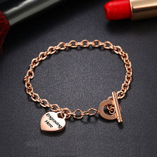 Personalized Heart Shape Party Bangles