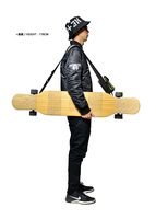 free shipping long board strap skate board strap carrying strap