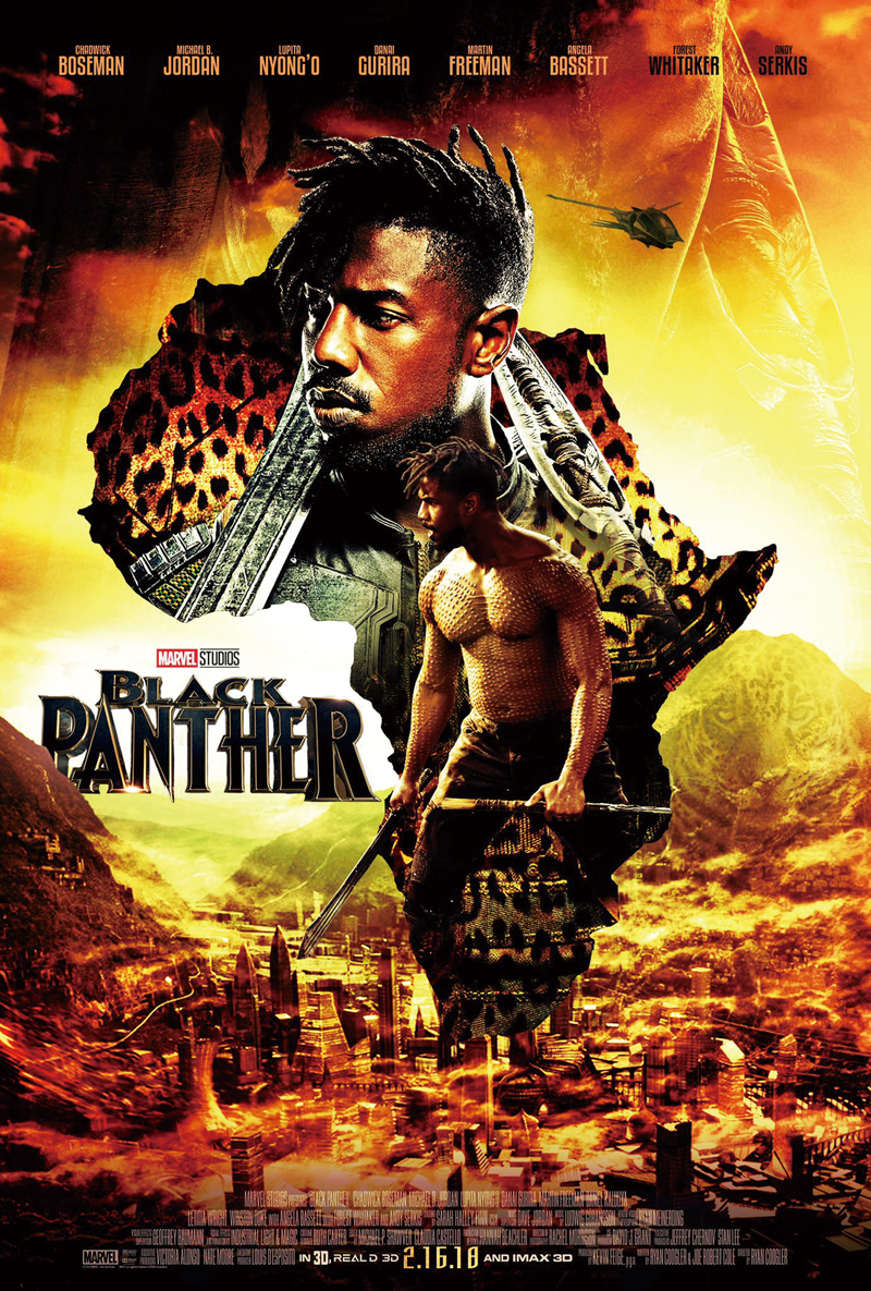 D730 Hot 2017 Marvel Movie Black Panther Comic Silk Poster ...