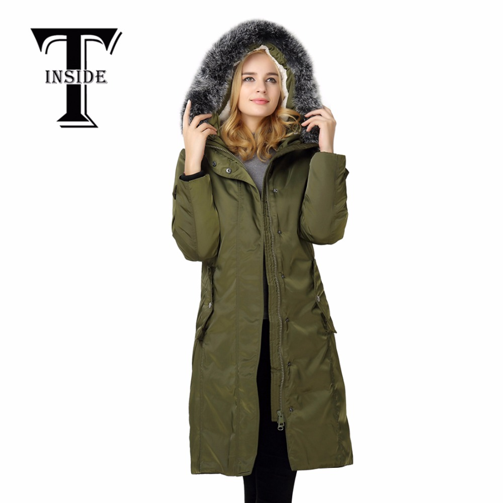 What is the warmest winter coat for women