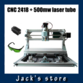 CNC 2418 + 500mw laser,diy mini cnc engraving machine,Pcb Milling Machine,Wood Carving machine,cnc router,cnc2418,GRBL control