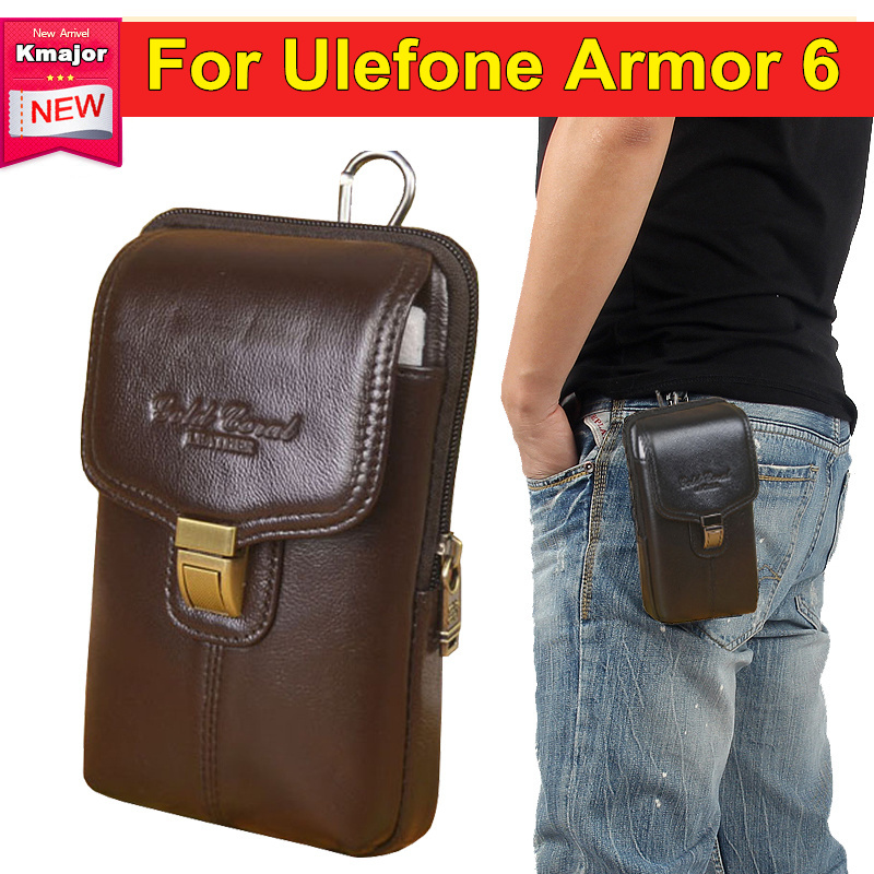 For Ulefone Armor 6 6.2 Leather Phone Holster Bags Perfect Accessory Multi-function Zipper Pouch Bag Cases Cover Free ShippingFor Ulefone Armor 6 6.2 Leather Phone Holster Bags Perfect Accessory Multi-function Zipper Pouch Bag Cases Cover Free Shipping