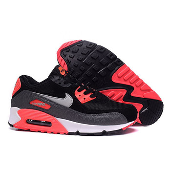 Original New Arrival Authentic Nike Women WMNS AIR MAX 90 ESSENTIAL Breathable Running Shoes Sport Outdoor Sneakers 537384-006 1