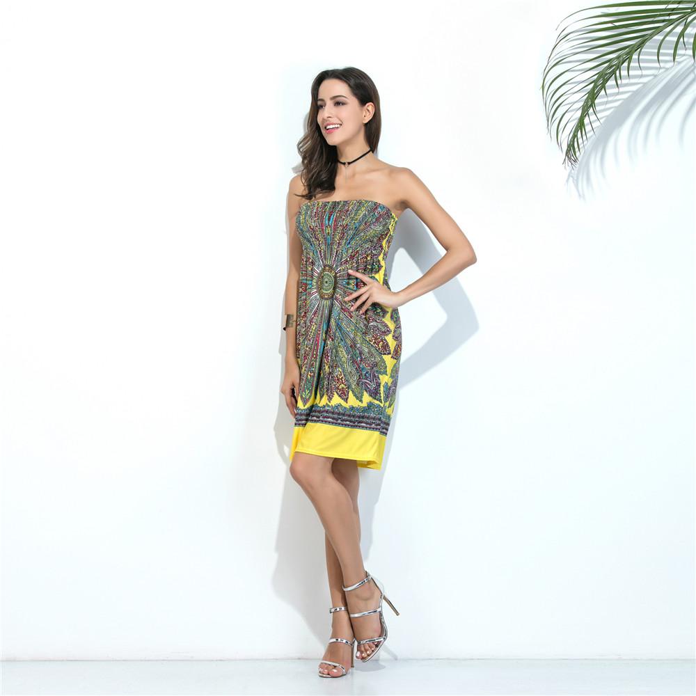 Swaggy HTB12S9vQXXXXXcKaXXXq6xXFXXXC Sommer-Strand-Kleid schulterfrei - 10 Farben