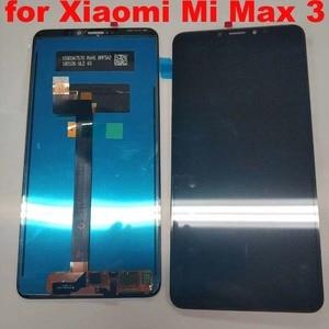 Image 1 - 6.9 بوصة شاشة الكريستال السائل ل XIAO mi mi ماكس 3 شاشة الكريستال السائل مجموعة المحولات الرقمية لشاشة تعمل بلمس ل Xiao mi Max3 العرض الأصلي أجزاء