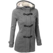 New Designer Jackets 2016 Autumn Winter Women Woolen Coat Thick Warm Long Coat Female Slim Fashion Hooded Coat Casaco