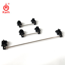 Kailh płyta zamontowane stabilizatory czarna obudowa do 1350 czekolady przełączniki klawiatury mechaniczne 2u 6.25u
