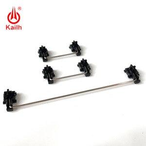Image 1 - Kailh piastra montata stabilizzatori cassa nera per 1350 Cioccolato Interruttori Tastiere Meccaniche 2u 6.25u