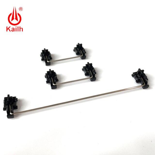 Kailh piastra montata stabilizzatori cassa nera per 1350 Cioccolato Interruttori Tastiere Meccaniche 2u 6.25u