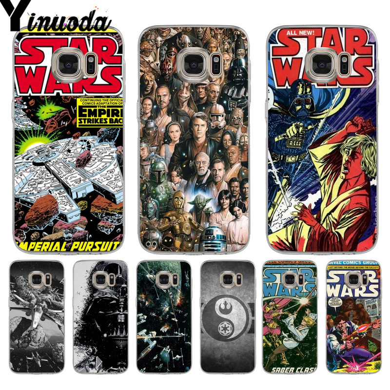 Yinuoda Star Wars Marvel Comics High Quality Classic Phone Case for samsung galaxy s7 s6 edge plus s5 s9 s8 plus case image