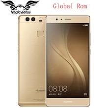 Global Rom HuaWei P9 4G LTE Mobile Phone Kirin 955 Octa Core Android 6.0 5.2 inch 1920X1080 3GB 32GB Dual Black 12MP Fingerprint