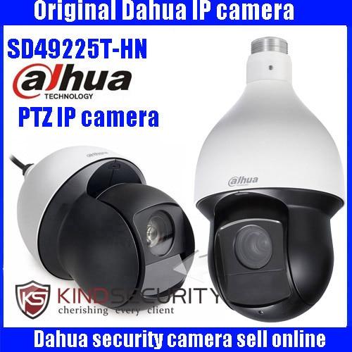 Dahua 2MP 25x Starlight IR PTZ Network Camera SD49225T-HN PTZ Speed Dome Camera DH-SD49225T-HN DHI-SD49225T-HN camera with logo 4 in 1 ir high speed dome camera ahd tvi cvi cvbs 1080p output ir night vision 150m ptz dome camera with wiper