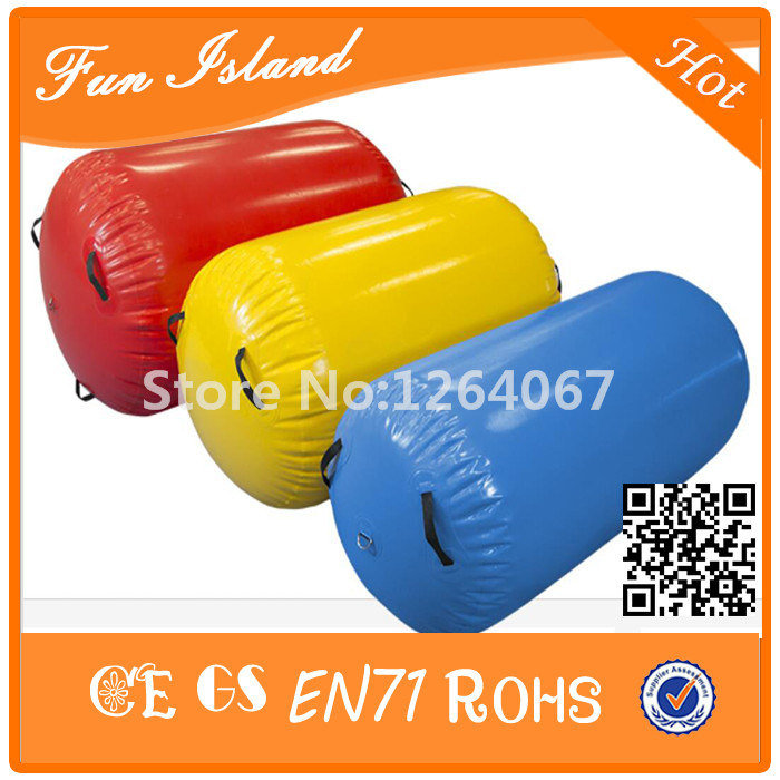 Free Shipping 4 pieces Custom Size And Color Inflatable Air Track Gymnastics Air Roller