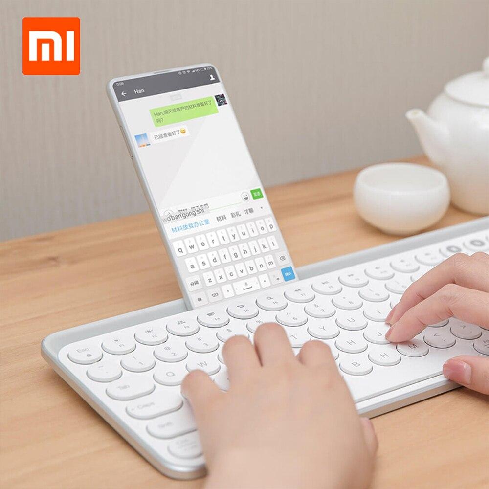 Xiaomi youpin Miiiw MWBK01 104 clé 2.4 GHz sans fil/Bluetooth double Mode clavier Portable