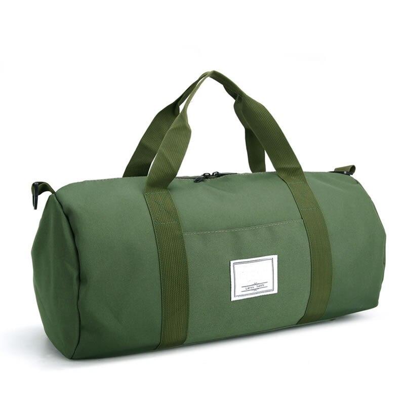 Mrs win Men Travel Bags Black Men Tote Shoulder Travel Bag Portable Men Handbags 21L Capacity Women Waterproof Duffle Bag LXB34