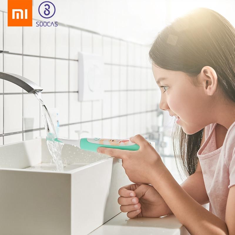 Xiaomi Mijia SOOCAS C1 Sonic Electric Toothbrush Waterproof children Tooth Brush kid ultrasonic toothbrush USB wireless