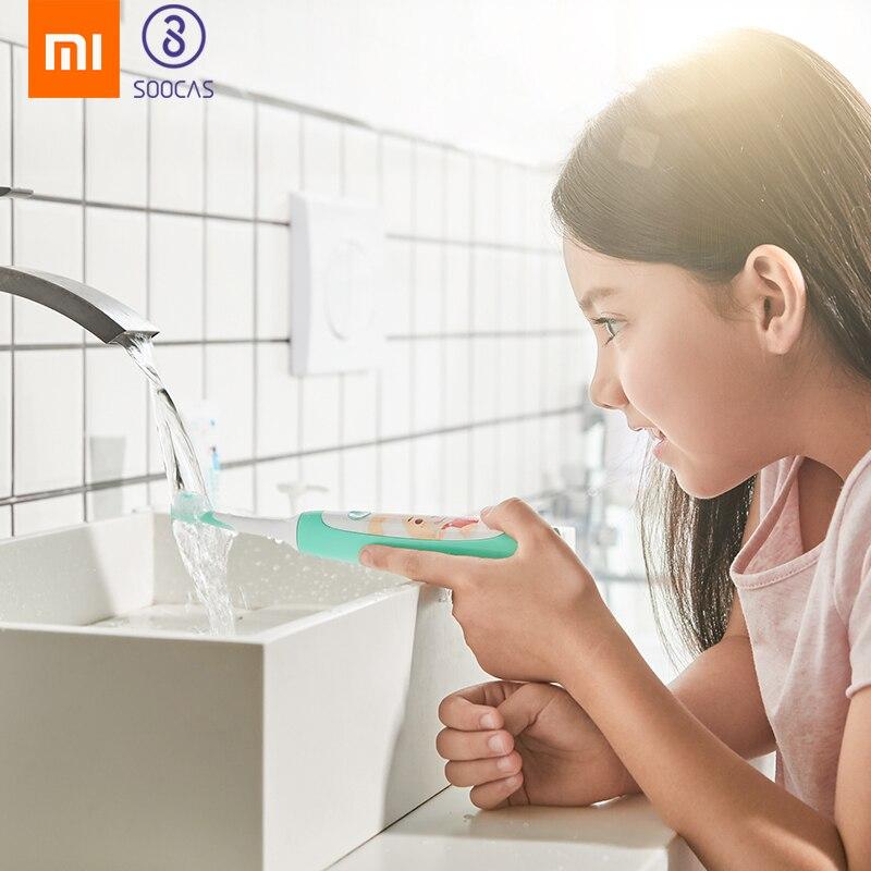 Xiaomi Mijia SOOCAS C1 Sonic Electric Toothbrush Waterproof children Tooth Brush kid ultrasonic toothbrush USB wireless charging-in Toothbrushes from Beauty & Health    1
