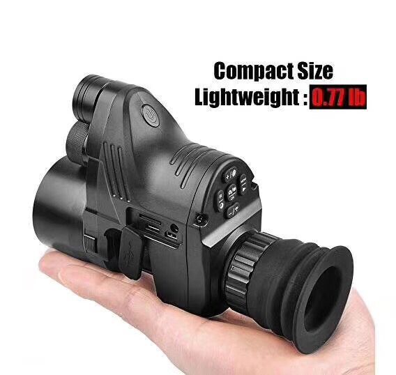 PARD NV007 Hunting Digital Night Vision Optics with Wifi APP 200M Range NV Scope 850nm IR Night Vision Sight Good Quality wgx2 hd night vision rilfescope 1280x720 display night vision hunting scope digital ir night vision scope optical 200m range
