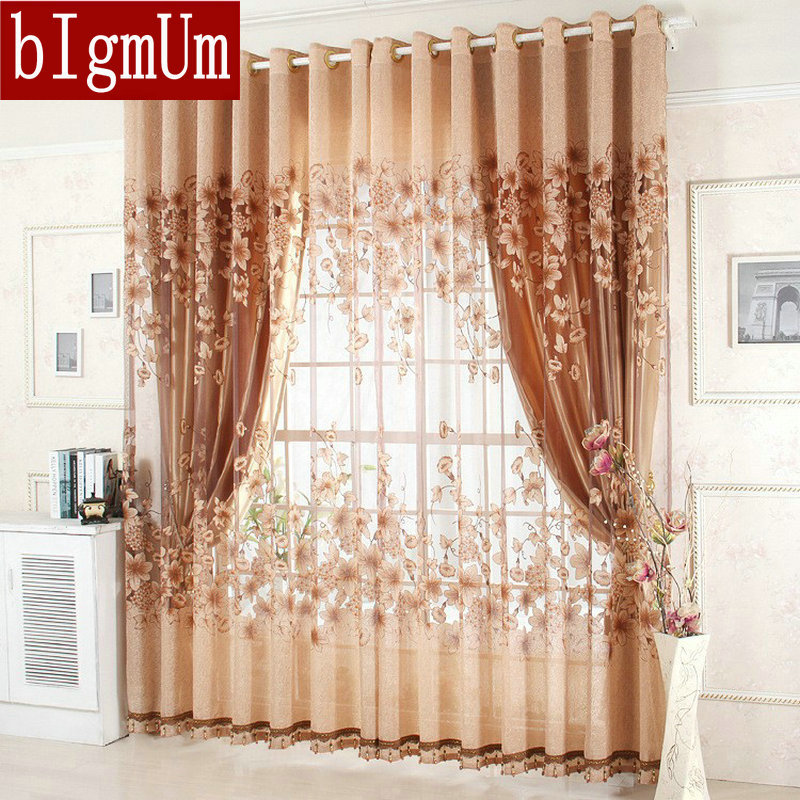 Buy on sale ready made window curtains for Living room quilt