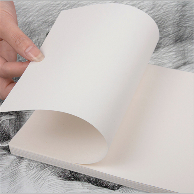 50pcs/lot 8K/16K Lead Paper Sketch Paper Sketchbook Art Drawing Watercolor Paper Gouache Drawing Paper