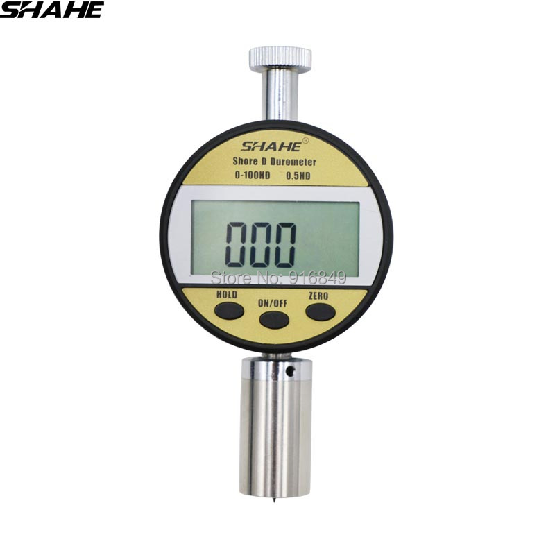 shahe 20-90D hardness tester durometer portable hardness tester digital shore durometer цены онлайн