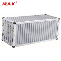 20FT Container Suit For 1/14 Scale Metal Kit Truck Semi trailer Tractor Tamiya Model Accessory