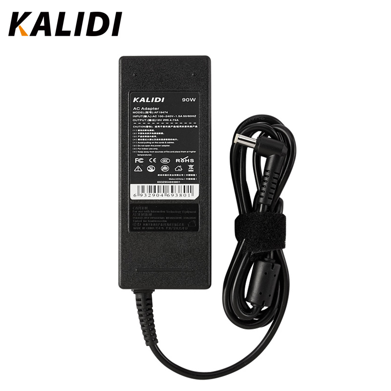 KALIDI 19V 4.74A 90W AC Laptop Adapter For Acer Power Supply Adapter Charger Notebook Power for Acer Aspire 3820 4720 5738 7720KALIDI 19V 4.74A 90W AC Laptop Adapter For Acer Power Supply Adapter Charger Notebook Power for Acer Aspire 3820 4720 5738 7720