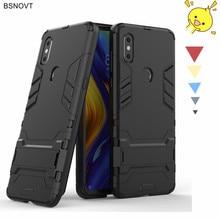 For Xiaomi Mi Mix 3 Case Armor Shockproof Phone Holder Anti-knock Cover Funda