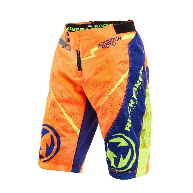 ROCK BIKER Motocross pantalon moto Short vélo descente vtt vtt MX DH VTT Short tout-terrain pantalon court