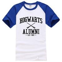 2016 Summer Brand 100 Cotton Tees Alumni Mike Harry Potter Hogwarts Magic Inspired American Apparel Harajuku