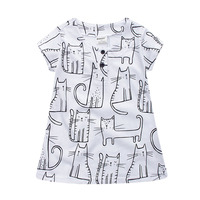 Lovely Girls Clothing For Kids Cotton Comfortable Girls Dress Beautiful Princess Dress Infant Baby Toddler Girl