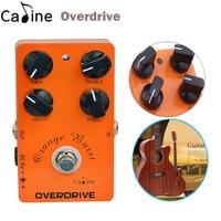 New Caline Guitar Overdrive Effect Pedal True Bypass Guitar Amplifier OD Effect Pedal Guitar Parts Accessories