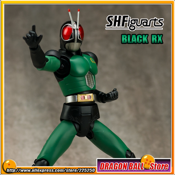 Japan Kamen Masked Rider Black RX Original BANDAI Tamashii Nations SHF/ S.H.Figuarts Toy Action Figure - BLACK RX Ver.2.0