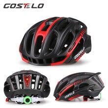 Costelo Light Cycling Helmet Bike Ultralight helmet Casco bicicleta velo capacete Mtb Road Bicycle Helmet 58-62cm free shipping