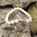 SN0419 2015-2016 New arrival branco pulseira de buda de jade contas de oração budista mala homem braclets