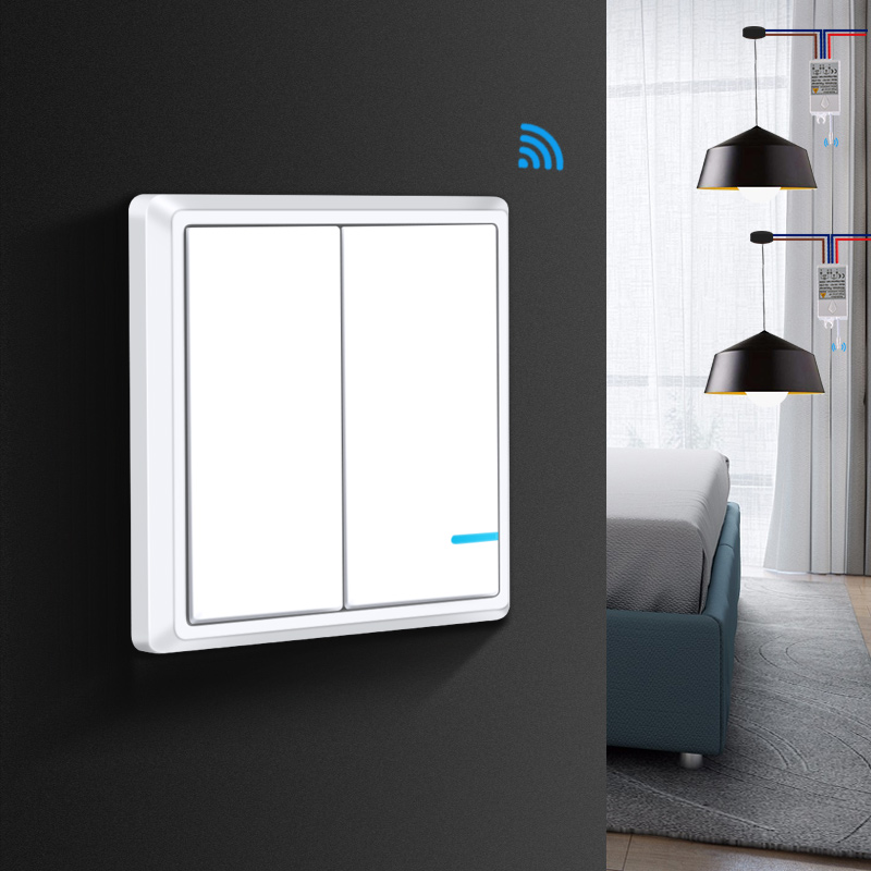 US $4.99 40% OFF|Remote Control Wireless Light Switch Waterproof ON/OFF on