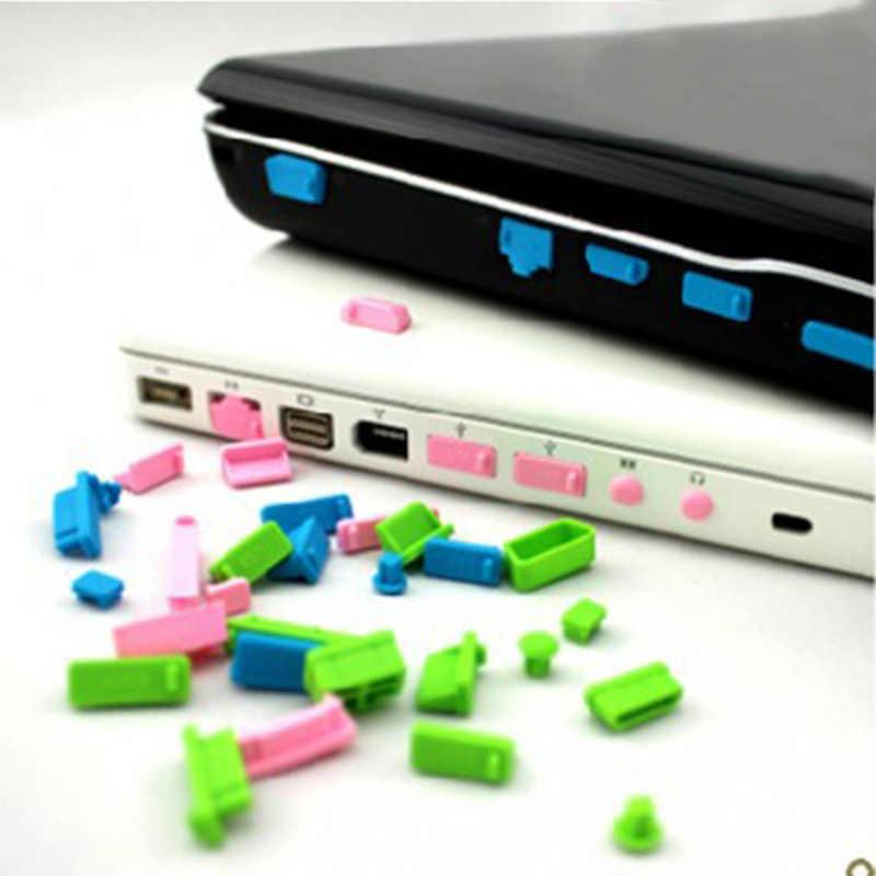 2018 13 יח'\סט סיליקון אנטי אבק Plug כיסוי בלם מחשב נייד אבק dustproof usb אבק plug אביזרי מחשב