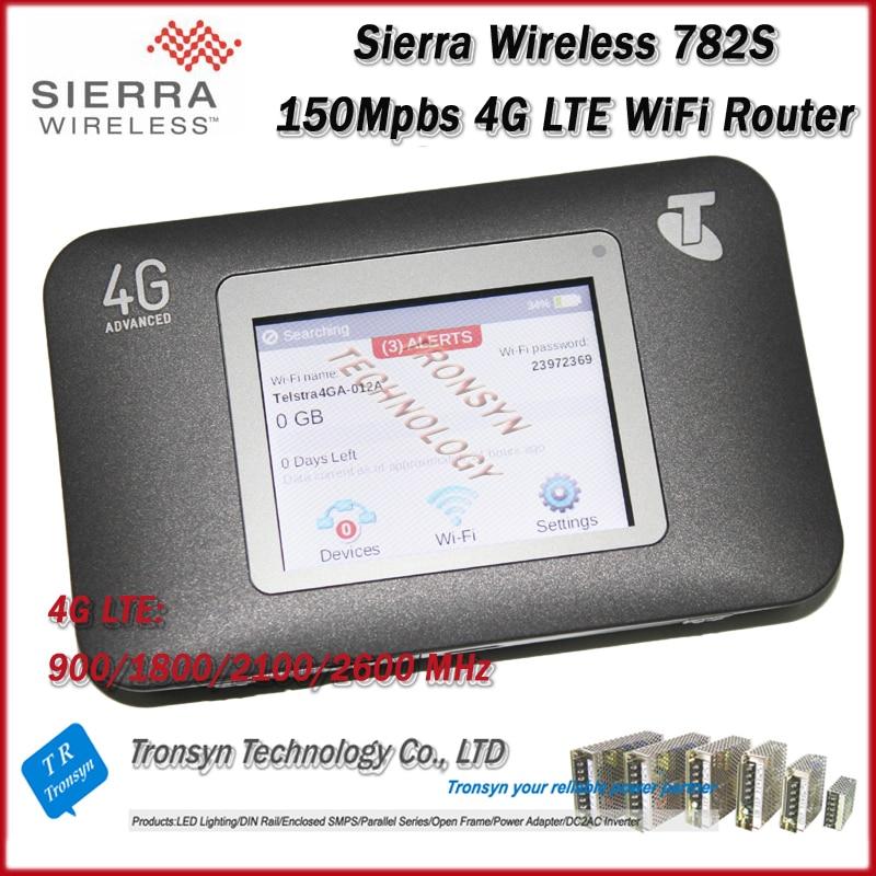 Vente chaude D'origine Unlock LTE FDD 150 Mbps Sierra Wireless Aircard 782 S 4G LTE Mobile Hotspot WiFi Et 4G LTE WiFi routeur