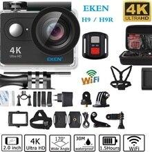EKEN H9/H9R Action camera WiFi remote control Ultra HD 4K 1080P/60fps 30M Waterproof Camera 2.0 LCD 170 lens Helmet pro camera