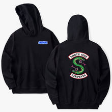 Hoodies Riverdale Casual Sweatshirt Riverdale Jacket Men's and Women's Hooded Personality Hoodies(China)
