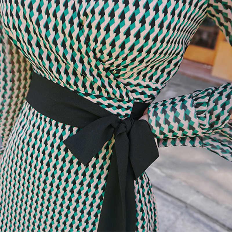 BGTEEVER Бандажное женское платье с разрезом и рукавом сексуальное с v-образным вырезом на шнуровке длинные пляжные платья с тонкой талией vestidos femme 2018