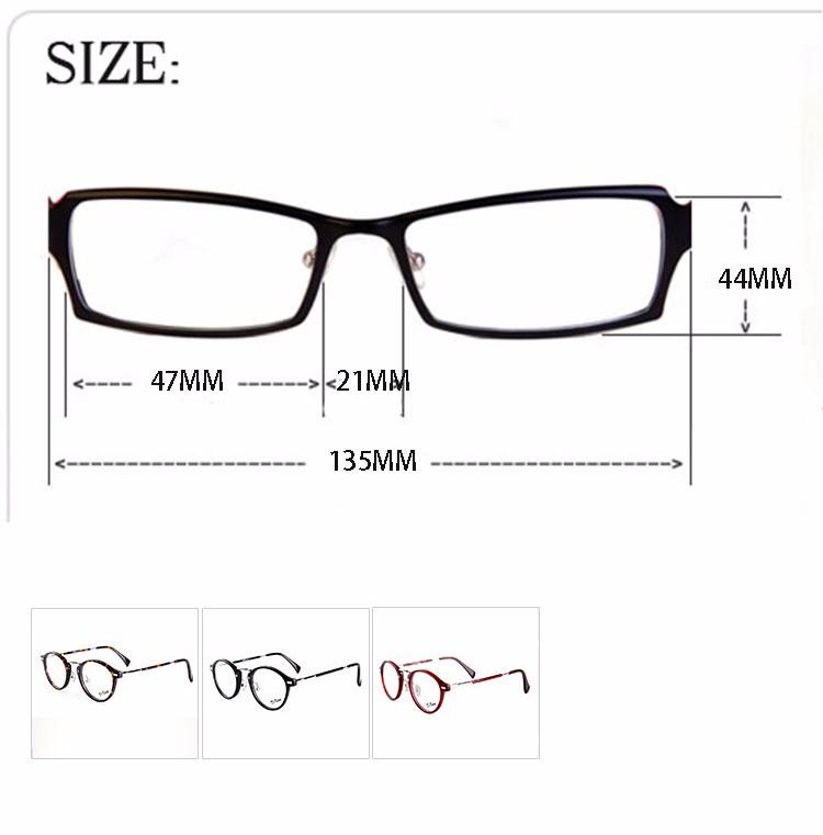 64a6b5df2e Feminino korean round metal frame glasses fashion brand designer ...