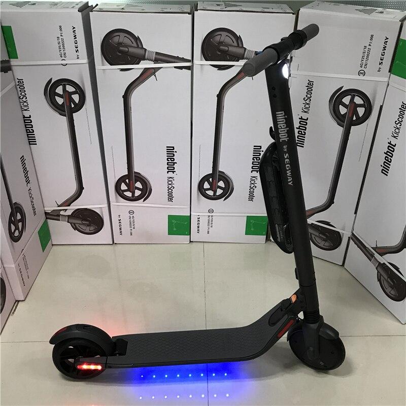 EU Estoque Ninebot KickScooter ES4 Inteligente Kick Scooter Elétrico dobrável leve hover board hoverboard skate com APP