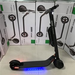 EU Magazzino Ninebot KickScooter ES4 di Smart Elettrica Scooter calcio pieghevole leggero hover bordo hoverboard skateboard con APP