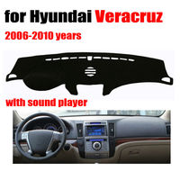Car Dashboard Covers For Hyundai Veracruz 2006 2010 High Configuration Left Hand Drive Dashmat Pad Dash