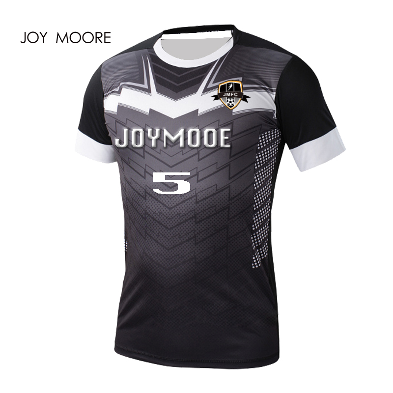 a0945326 US $144.0  black Football Jersey Custom Sponsor Name Number Sublimation  Printing Soccer Jersey-in Soccer Sets from Sports & Entertainment on ...